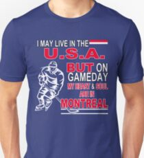 Heart & Soul in Montreal (blue) T-Shirt