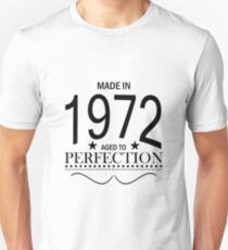 Made in 1972 Aged To Perfection T-Shirt