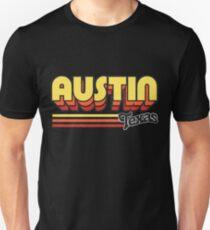 Austin, TX | City Stripes T-Shirt