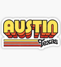 Austin, TX | City Stripes Sticker