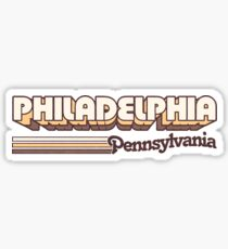 Philadelphia, PA | City Stripes Sticker