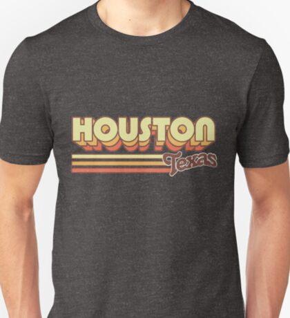 Houston, TX   City Stripes T-Shirt