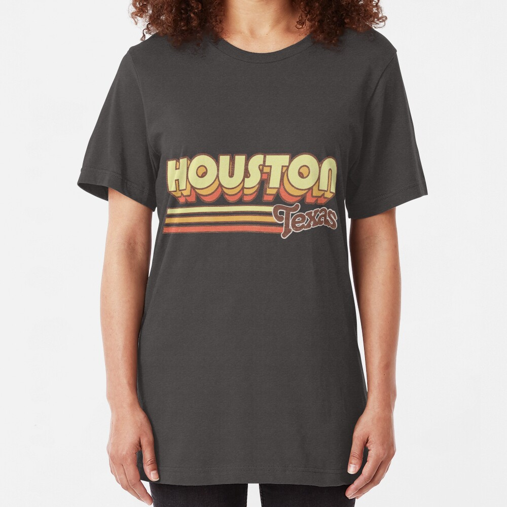 Houston, TX | City Stripes Slim Fit T-Shirt
