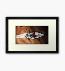Ignition Sequence Framed Print