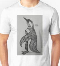 Patterned Penguin  T-Shirt