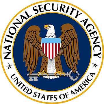 National Security Agency Emblem by Quatrosales