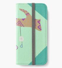 Boho Ocean Dreamcatcher iPhone Wallet