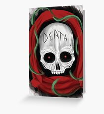 Skull of Death Greeting Card