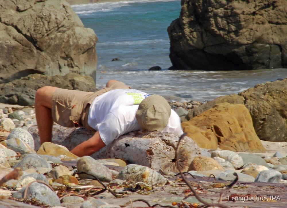 beached today, burnt tomorrow by Lenny La Rue, IPA