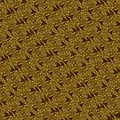 Golden sparkly abstract pattern by homemadecreate