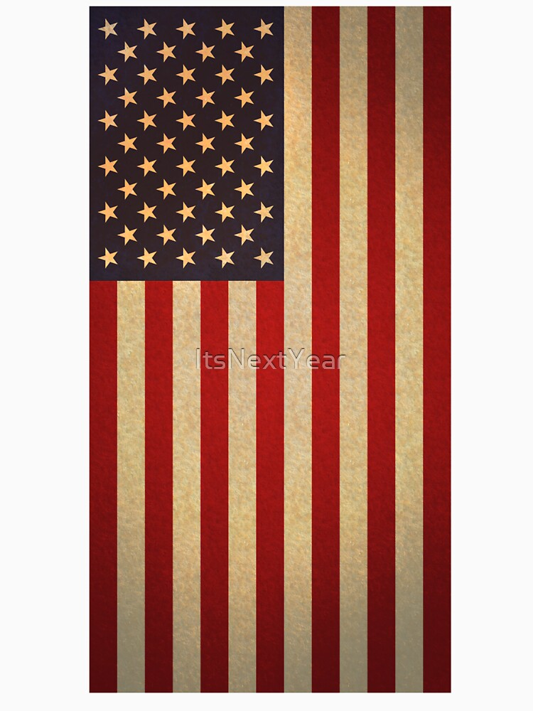 american flag vertical unisex t shirt by itsnextyear redbubble