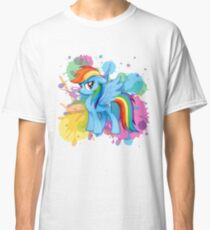 my little pony rainbow dash Classic T-Shirt