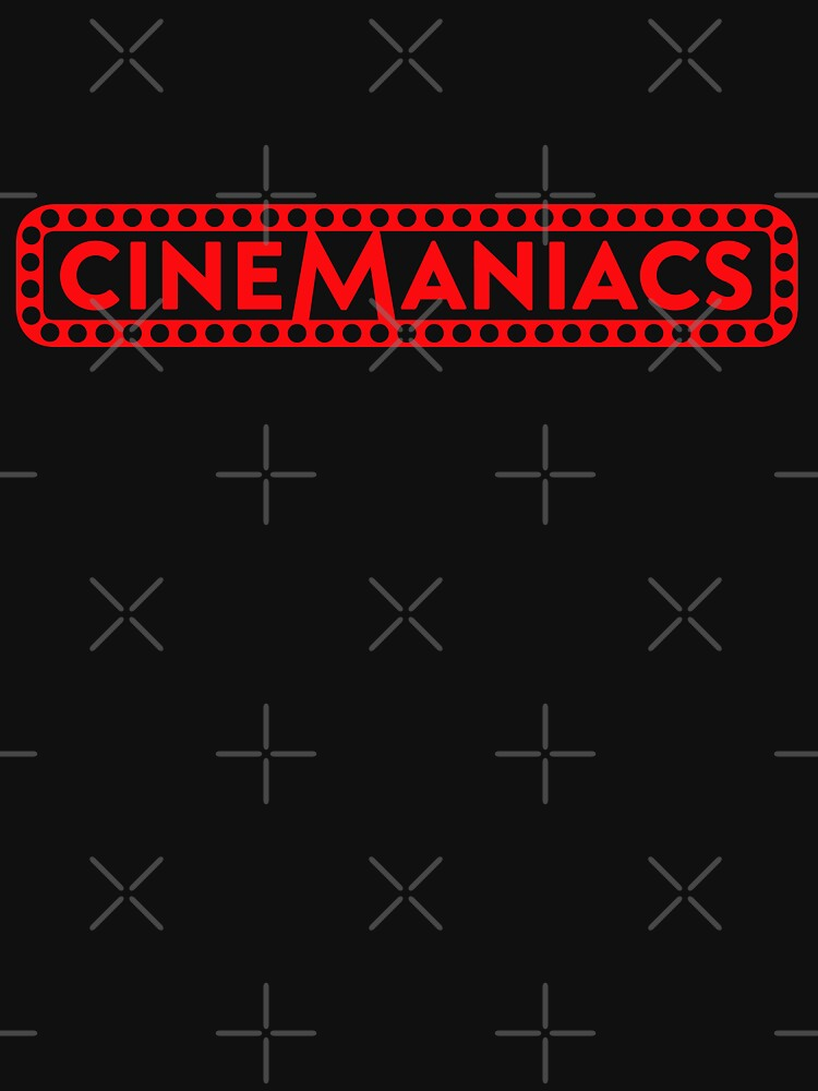 Cinemaniacs LOGO [on black] by DCdesign