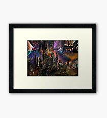 The Night Workers Framed Print