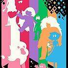 A Gemtastic Rainbow by Gilles Bone
