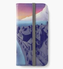 Lake Town Landscape iPhone Wallet