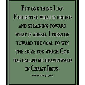 Philippians 3:13-14 by allisonjo