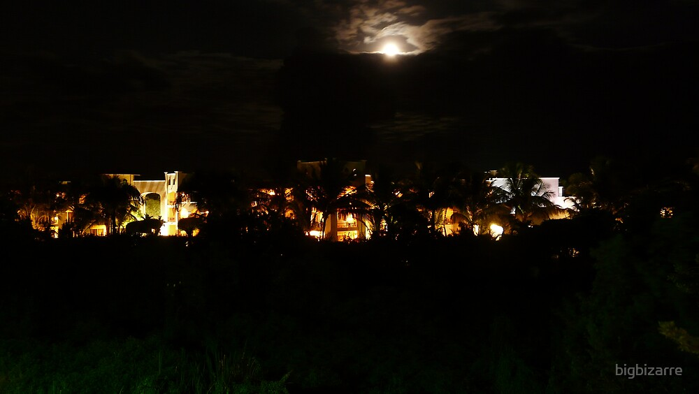 bayahibe at night by bigbizarre