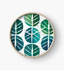 i love Green Leaf Clock