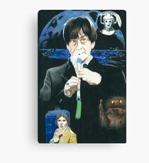 2nd Doctor Troughton Canvas Print