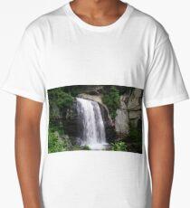 Looking Glass Waterfall, North Carolina Long T-Shirt