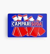 CAMPARI SODA Metal Print