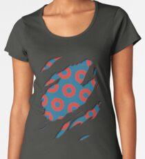 Fishman Donuts - Phish Women's Premium T-Shirt