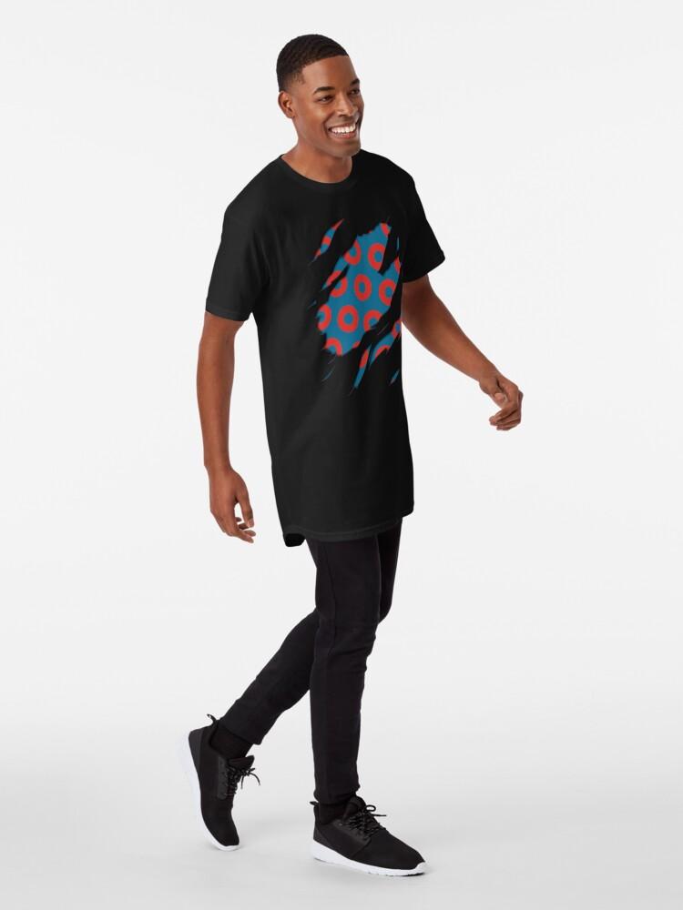 Alternate view of Fishman Donuts - Phish Long T-Shirt