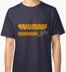 Columbus, OH | City Stripes Classic T-Shirt