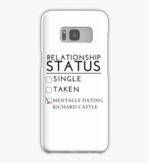 Mentally Dating Richard Castle Samsung Galaxy Case/Skin