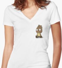 Young guardian  Women's Fitted V-Neck T-Shirt