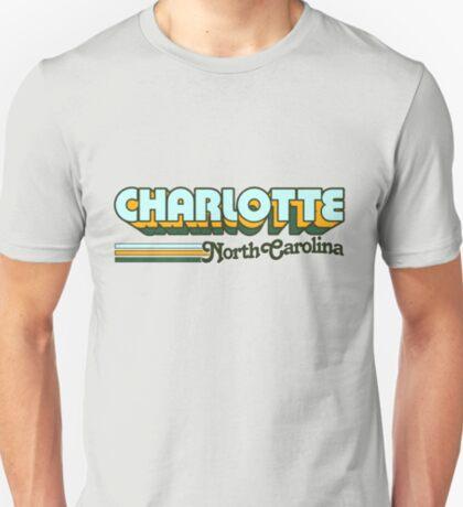 Charlotte, NC   City Stripes T-Shirt