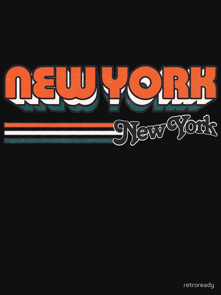 Nueva York, NY | Rayas de la ciudad de retroready