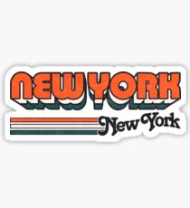 New York, NY | City Stripes Sticker