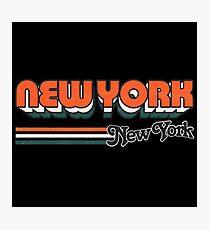 New York, NY | City Stripes Photographic Print