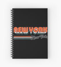 New York, NY | City Stripes Spiral Notebook