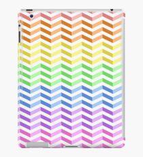 "Rainbow ""3D"" Zigzag Stripes iPad Case/Skin"