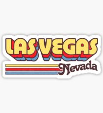 Pegatina Las Vegas, NV | Rayas de la ciudad