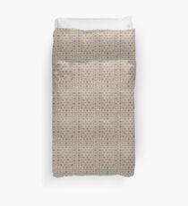 Cream Carpet Duvet Cover