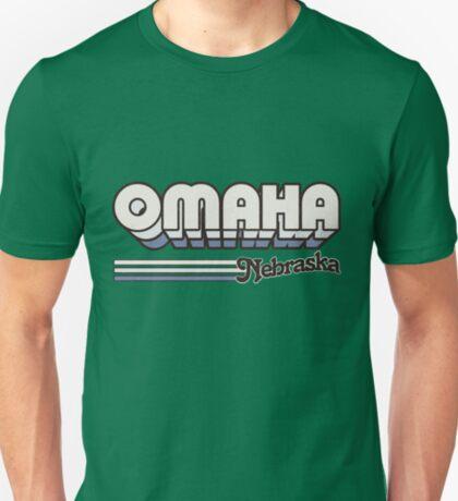 Omaha, NE   City Stripes T-Shirt