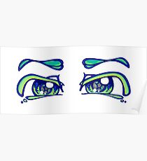 tranquil eyes Poster