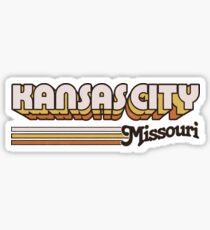 Kansas City, MO | City Stripes Sticker