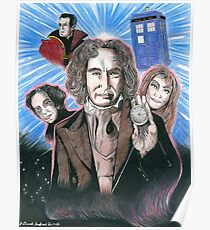 8th Doctor McGann Poster