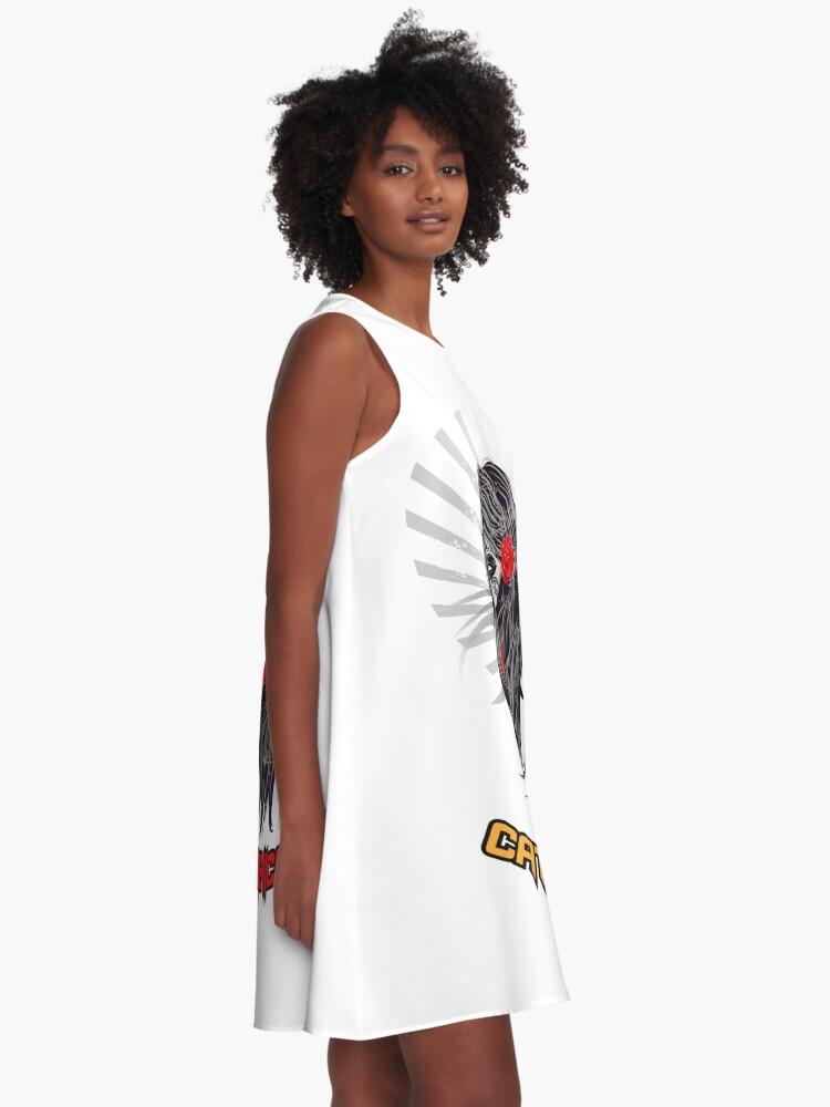 Catrina Mexicana Camisetas Vestido Acampanado