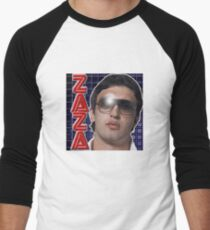 ZAZA Men's Baseball ¾ T-Shirt