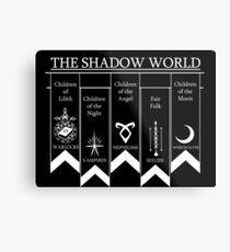 The shadow World - Shadowhunters Metal Print