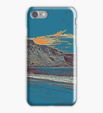 Black Beach iPhone Case/Skin