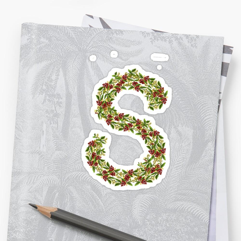 Floral Designing Custom Alphabet T Shirt First Letter Of Name