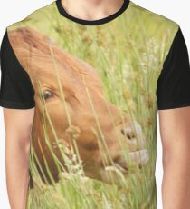Brown calf Graphic T-Shirt