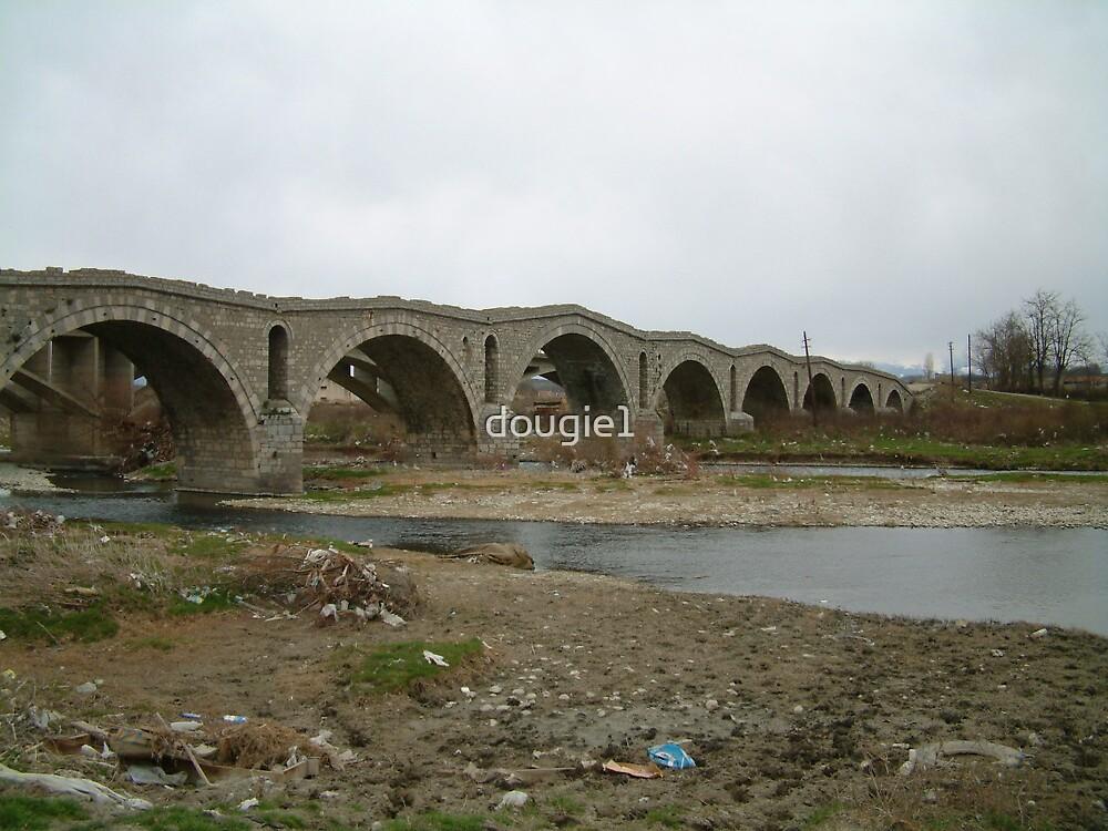 A Bridge in Kosovo by dougie1